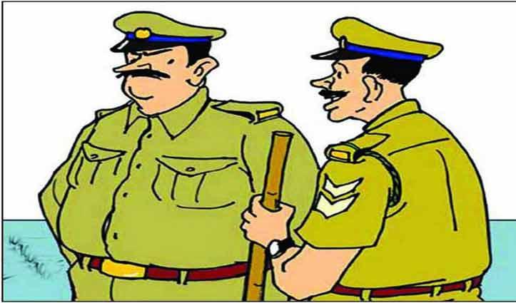 Paonta के जंगल में पुलिस ने की छापेमारी, जाने क्या थे कारण