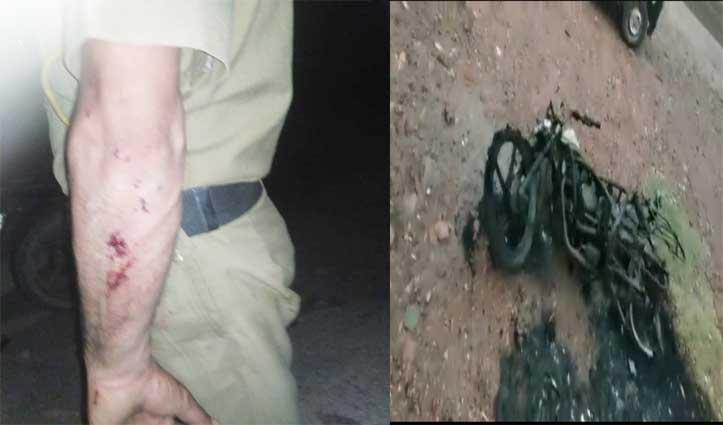 सुंदरनगर: ड्यूटी से लौट रहे Home Guard जवान पर हमला, मारपीट कर जला दी बाइक
