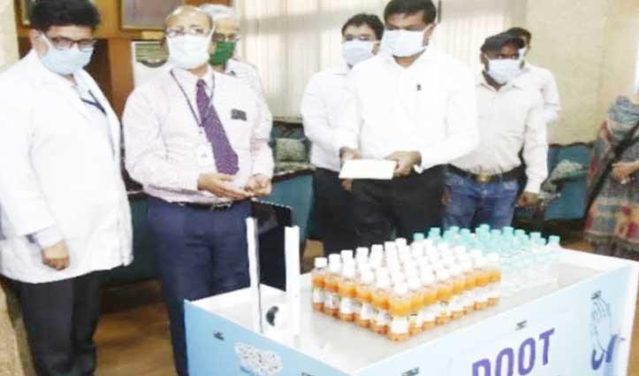 PGI में अब डॉक्टर-नर्स नहीं Robotic Trolley देगी कोरोना मरीजों को खाना और दवा