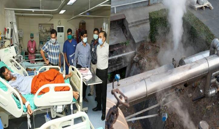 विशाखापट्टनम के बाद अब रायगढ़ के Paper Mill में लीक हुई गैस, अस्पताल भेजे गए मजदूर