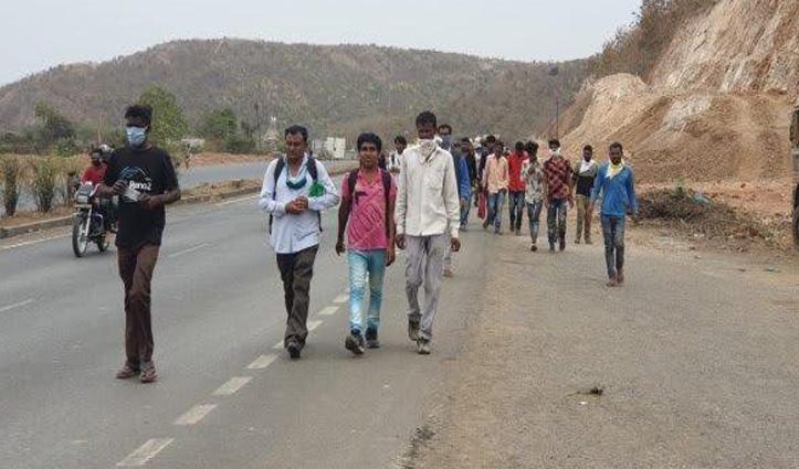 राजस्थान के स्कूल में Quarantine हुए प्रवासियों ने गिनती और नाम लिखना सीखा