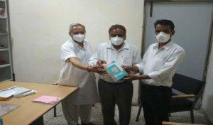 Covid-19 संकट के बीच सेवानिवृत इंजीनियर राम किशन चौधरी कर रहे सेवा