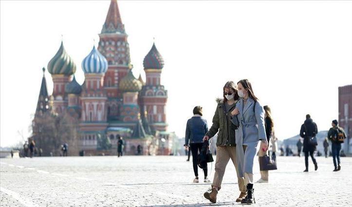 Covid-19: रूस में लगातार दूसरे दिन 24 घंटे के अंदर 10,000 से अधिक मामले दर्ज