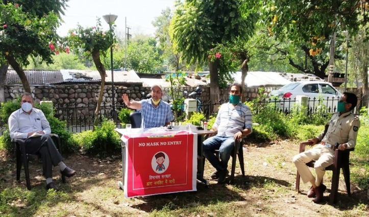 Covid-19 से बचाव को शाहपुर उपमंडल में रविवार को बंद रहेंगे बाजार