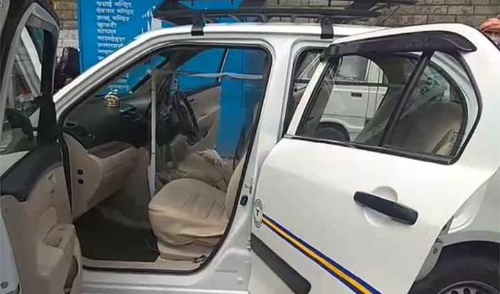 कोरोना से लड़ने के लिए, शिमला के इस Taxi Driver ने किया पूरा इंतजाम