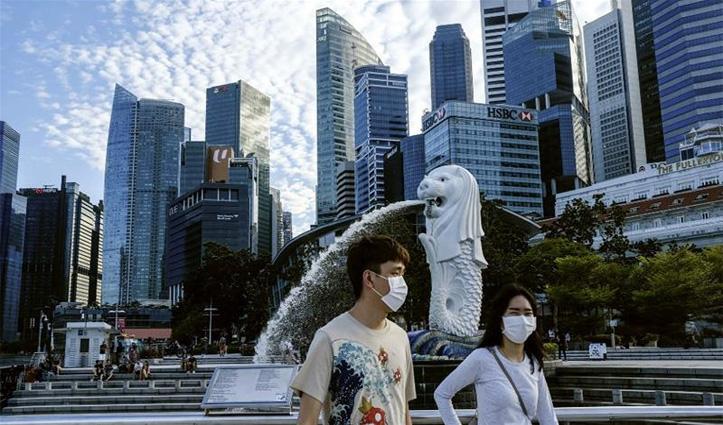 सिंगापुर में करीब 4,800 भारतीय Covid-19 पॉज़िटिव; संक्रमित लोगों में से 90 प्रतिशत श्रमिक