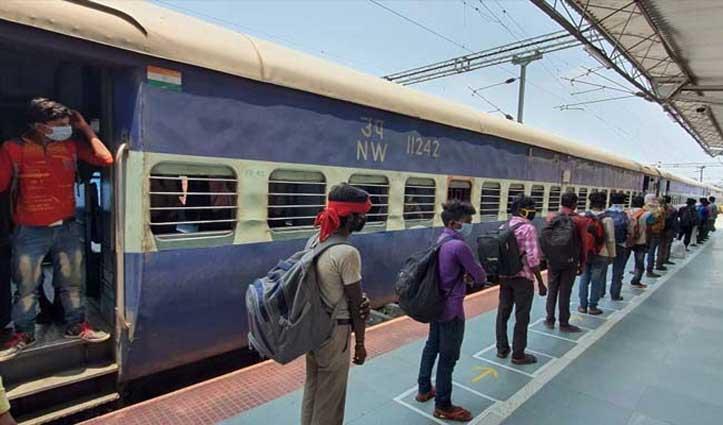 RPF की Report में हुआ खुलासा: श्रमिक स्पेशल ट्रेनों में 9 मई-27 मई के बीच हुई 80 मौतें