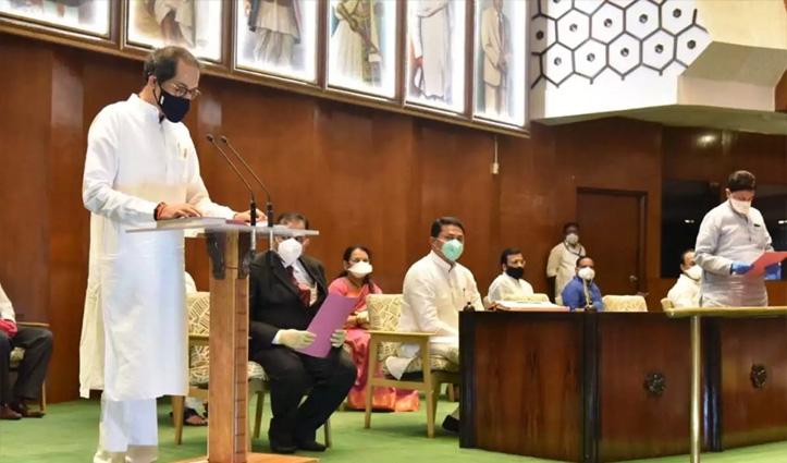 महाराष्ट्र: CM उद्धव ठाकरे ने ली MLC की शपथ, निर्विरोध हुए थे निर्वाचित