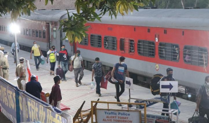 मिशन देवभूमि वापसी – Pune से 607 हिमाचलियों को लेकर साढ़े पांच घंटे देरी से Una पहुंची श्रमिक ट्रेन