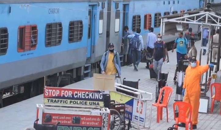 मिशन देवभूमि वापसी – Delhi से 271 हिमाचलियों को लेकर पहुंची सातवीं Special Train