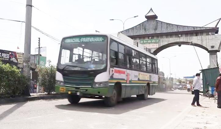 चंडीगढ़ से 51 बसों में Himachal में प्रवेश किए 1314 लोग, कांगड़ा के 609-ऊना जिला के 132