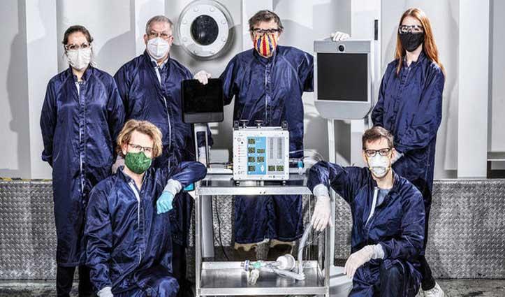 अब देश में बनेगा NASA का VITAL वेंटिलेटर; 3 भारतीय कंपनियों को मिला विनिर्माण का लाइसेंस