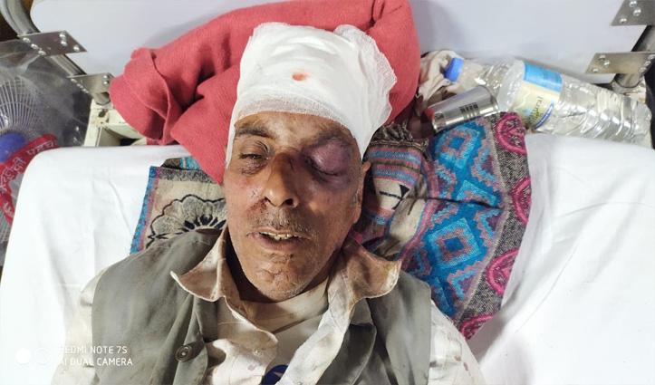 Sunder Nagar के निहरी में पत्थर से फोड़ा व्यक्ति का सिर, IGMC में भर्ती