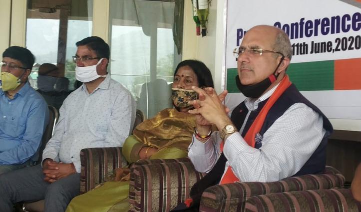 Nalin Kohli का पलटवार – रिमोट से नहीं जन भावनाओं से चलती है BJP की सरकार