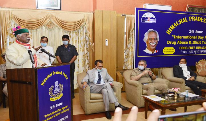 नशाखोरी की समस्या Himachal में हुई विकराल, स्थिति और खराब होने की Governor ने जताई आशंका