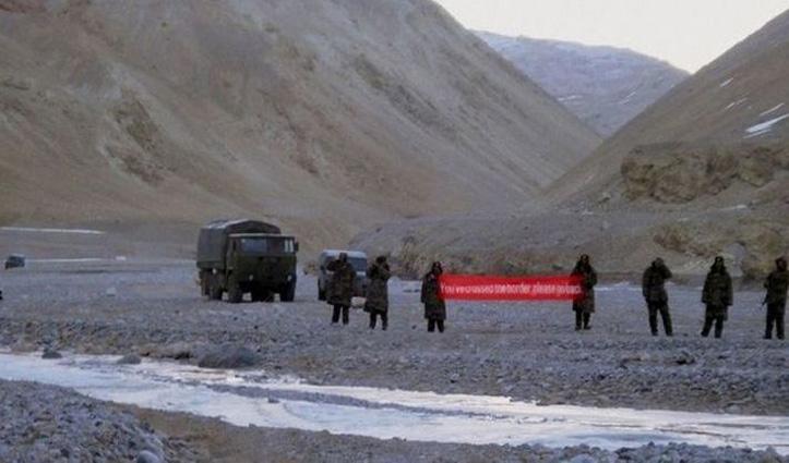 India-China सीमा तनावः गलवन घाटी में झड़प के दौरान भारतीय सेना का अफसर व दो जवान शहीद