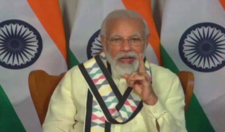 ICC के विशेष कार्यक्रम में बोले PM Modi – 'मुसीबत की दवाई सिर्फ मजबूती'