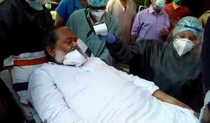 बाथरूम में फिसलकर गिरे Haryana के स्वास्थ्य मंत्री अनिल विज; पैर में Fracture