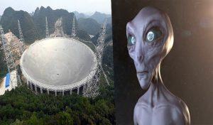 सितंबर माह से एलियन लाइफ की खोज शुरू करेगा China; लेगा इस बड़े Telescope की मदद