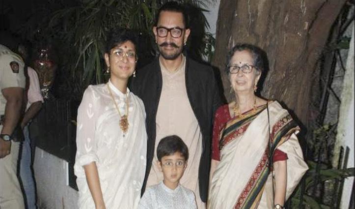 आमिर खान का हाउस स्टाफ Covid-19 पॉजिटिव; एक्टर बोले- दुआ करें मेरी मां का टेस्ट नेगेटिव हो