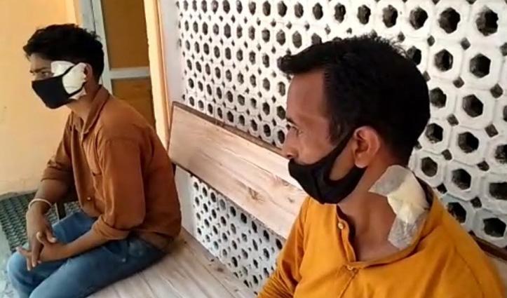 Mandi: इंदिरा मार्केट में नाबालिग ने तीन मजदूरों पर चाकू से किया हमला, लहूलुहान