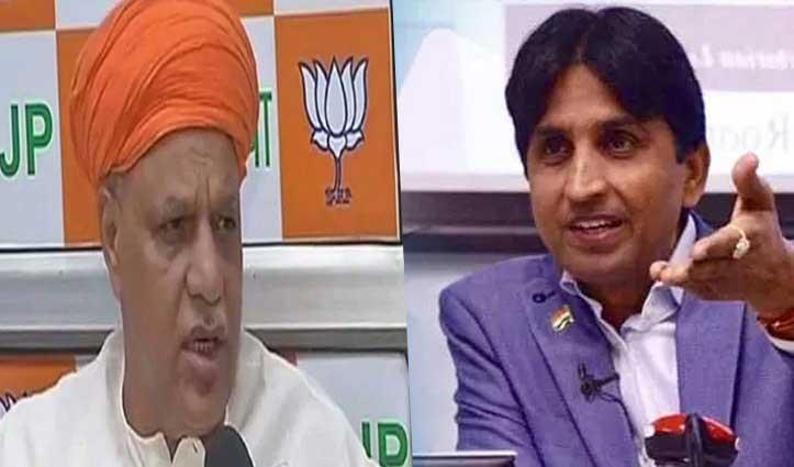 BJP सांसद ने कहा- प्रवासी मज़दूरों के पलायन के लिए Indira Gandhi जिम्मेदार; कुमार विश्वास ने कसा तंज