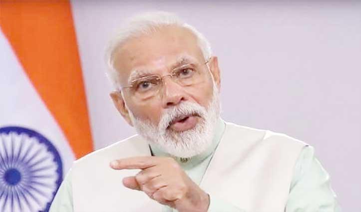 मुख्यमंत्रियों संग बैठक में बोले PM Modi- कोरोना पर काबू के लिए Punjab की रणनीति अपनाएं राज्य