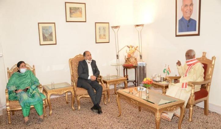 सीएम जयराम ने राज्यपाल दत्तात्रेय को दी जन्मदिन की शुभकामनाएं