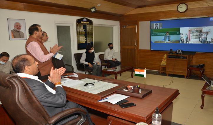 पांगी की विभिन्न परियोजनाओं के कार्यों में शीघ्रता लाने के CM Jai Ram ने दिए निर्देश