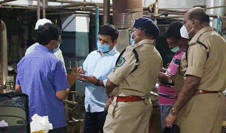 निजी कंपनी में Gas Leak होने से दो मजदूरों की गई जान, चार की हालत गंभीर