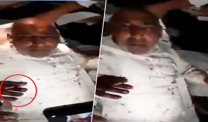 Video: गोली लग गई पर बीड़ी नहीं छोड़ी, Stretcher पर भी खींचता रहा कश