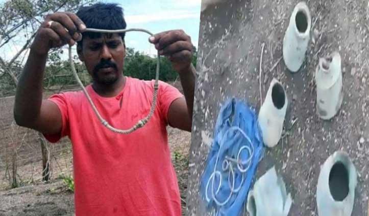 एक झटके में मालामाल हुआ किसान: खेत की जुताई के दौरान मिला सोने-चांदी का खजाना
