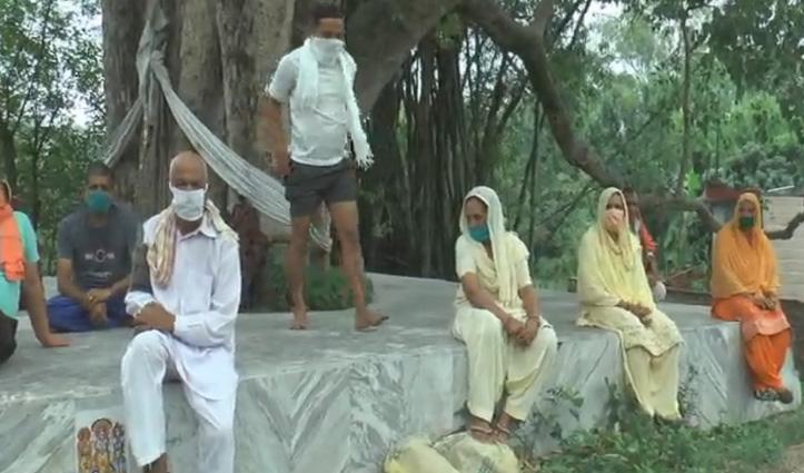 बाहरी राज्यों से सासन गांव पहुंचे लोगों में दो Positive, अन्य खुले में घूम रहे, ग्रामीणों में दहशत