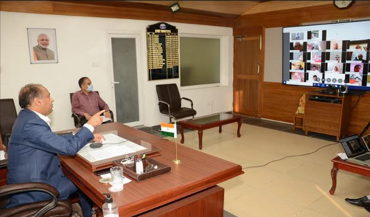 वर्चुअल रैलियों में बोले जयराम ठाकुर- उलझन की स्थिति में Congress के नेता