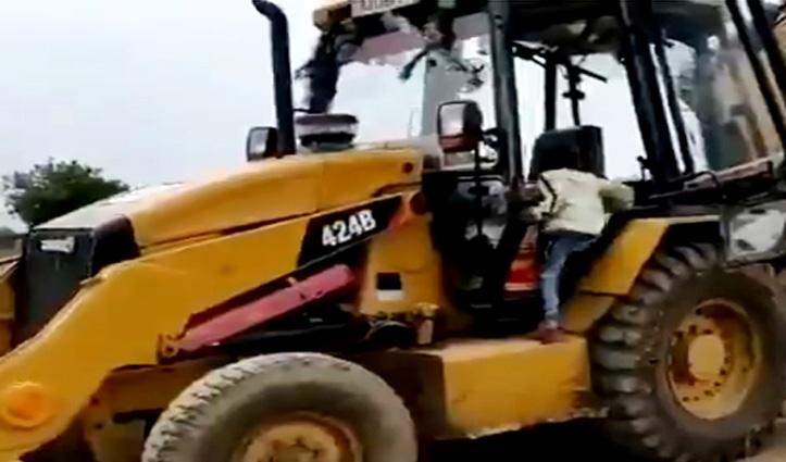 गजब : 5 साल के बच्चे ने चलाई JCB, वीरेंद्र सहवाग ने शेयर किया Video