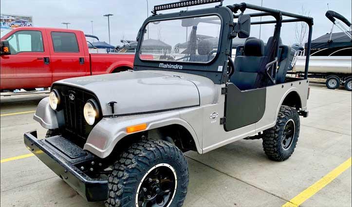 महिंद्रा का ऑफ रोड व्हीकल Roxor है Jeep की नकल; अमेरिका में Ban की गई
