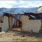 मंडी के Karsog में आग लगने से दो मंजिला मकान राख, 5 लाख का नुकसान