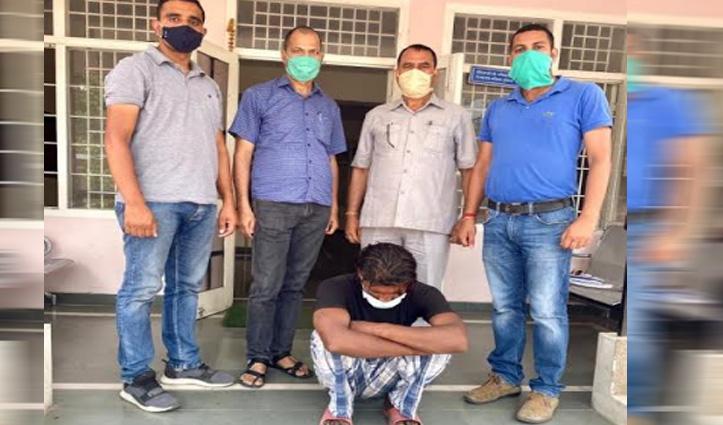 PO Cell Mandi ने पकड़ा उद्घोषित अपराधी, किया सुंदरनगर पुलिस के हवाले