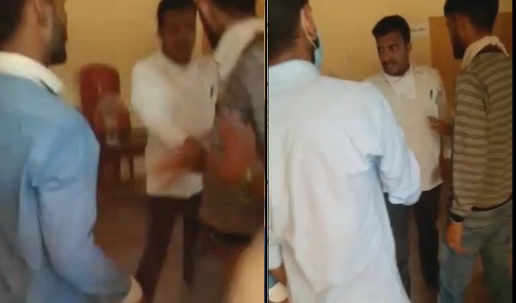 Sundernagar की जाम्बला पंचायत के उपप्रधान ने पीटा ग्रामीण, Video Viral