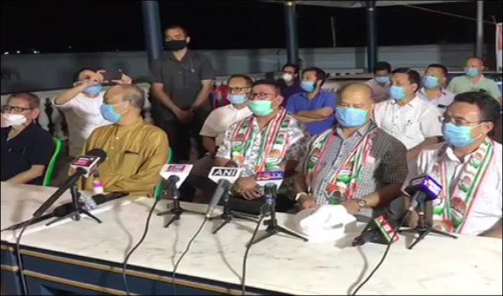 मणिपुर में कांग्रेस ने बिगाड़ा सियासी खेल: 3 BJP विधायकों ने बदला पाला, डिप्टी CM समेत 4 मंत्रियों का इस्तीफा