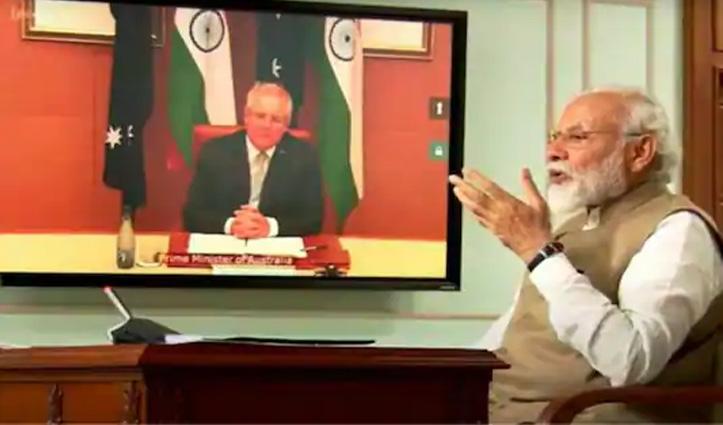 एक-दूसरे के सैन्य ठिकानों का इस्तेमाल कर सकेंगे India-Australia; हुए 7 समझौते, 2 घोषणाएं