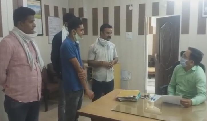 नीरज भारती की गिरफ्तारी के विरोध में सड़कों पर उतरी युवा Congress, रिहाई के लिए राज्यपाल को ज्ञापन