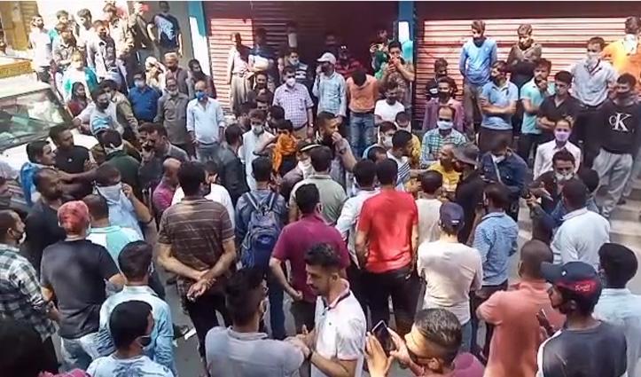 नेरवा बाजार में तेज रफ्तार Bike सवार ने कुचला राहगीर, गई जान-लोगों में रोष