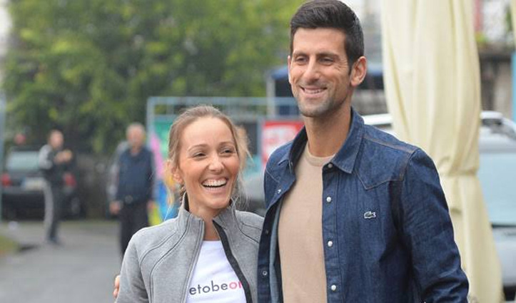 वर्ल्ड No-1 टेनिस स्टार नोवाक जोकोविच और उनकी पत्नी का Covid-19 टेस्ट आया पॉज़िटिव