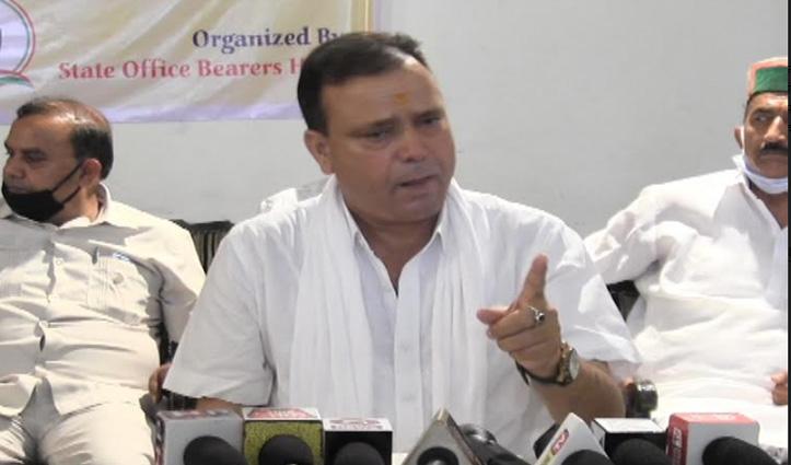 प्रकाश चौधरी बोले: BJP में जारी है अंतर्कलह, कभी भी गिर सकती है Government