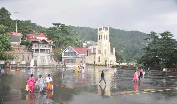 मौसम: Himachal में तीन दिन भारी बारिश-अंधड़ की चेतावनी, आठ जिलों में Yellow Alert जारी