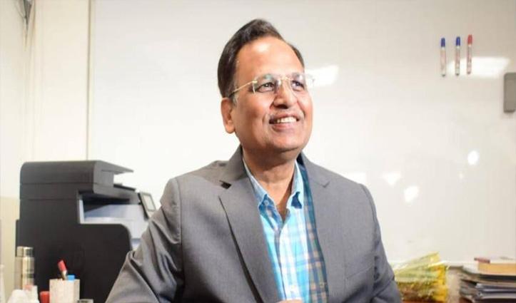 दिल्ली के Covid-19 पॉजिटिव स्वास्थ्य मंत्री ऑक्सीजन सपोर्ट पर, निमोनिया बढ़ा