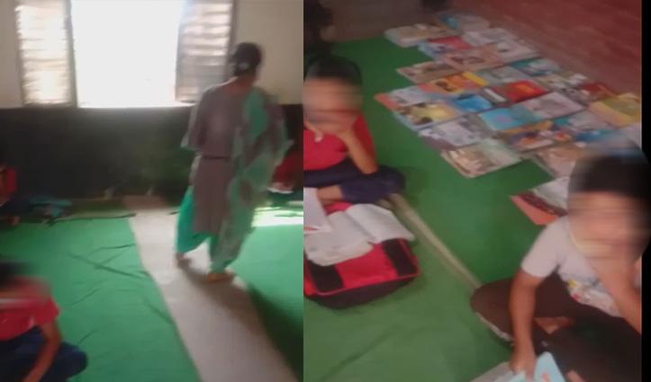 स्वारघाटः Private School की मनमानी, कोरोना संकट के बीच पाठशाला में लग रही क्लासें- Video viral