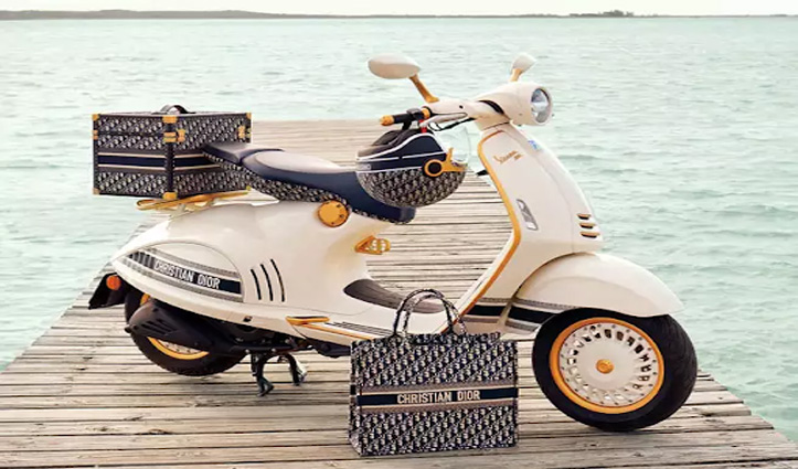Piaggio ने पेश किया Vespa 946 Christian Dior स्कूटर, होगा बहुत कुछ ख़ास