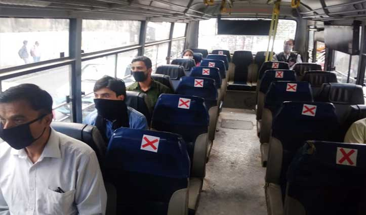 Morning Update: हिमाचल में 72 दिनों के बाद सड़कों पर दौड़ी Buses,पहले दिन कम दिखी सवारियां
